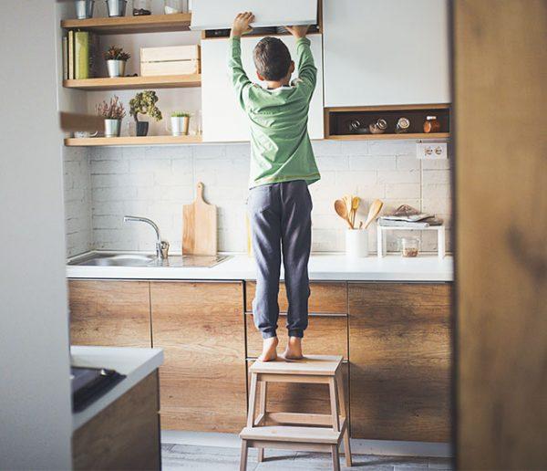 Enfants : nos conseils pour sécuriser votre cuisine !