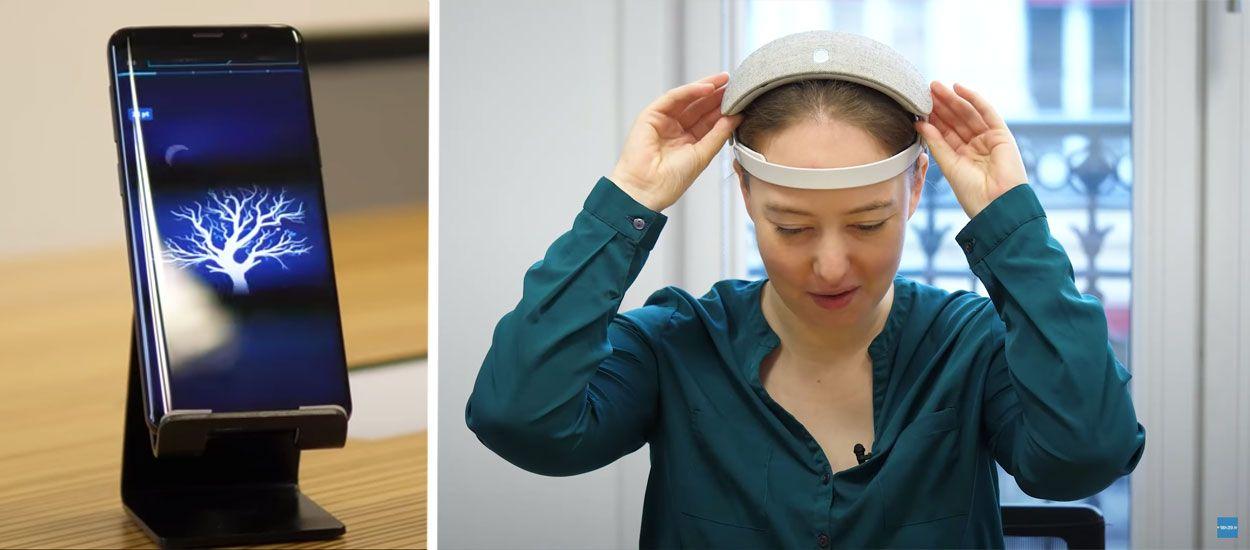 J'ai testé un casque bizarre et futuriste pour mieux dormir : verdict !