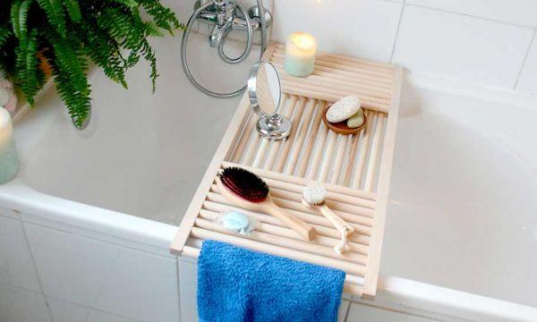 Tuto : Fabriquez ce plateau de baignoire, parce que vous méritez de vous chouchouter