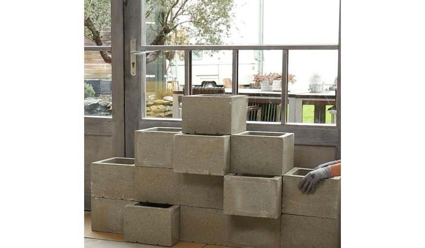 Tutoriel Pour Construire Un Muret De Jardinieres En Beton Facilement