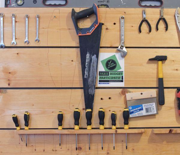 Vous bricolez occasionnellement ? Empruntez des outils dans une bricothèque !
