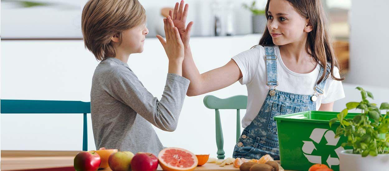 Comment transmettre aux enfants le mode de vie zéro déchet (sans frustration) ?