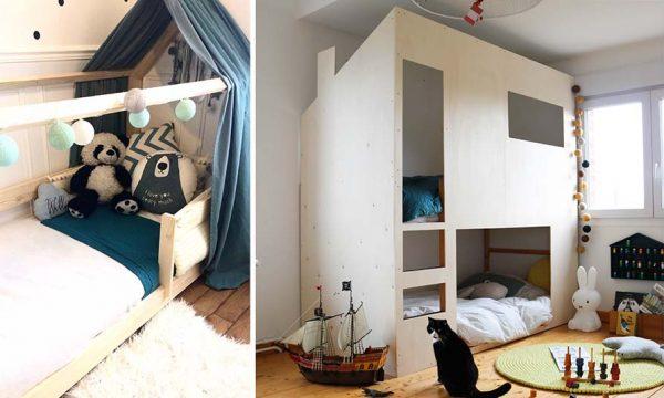 Ils ont fabriqué un lit-cabane à leurs enfants et vous donnent leurs conseils