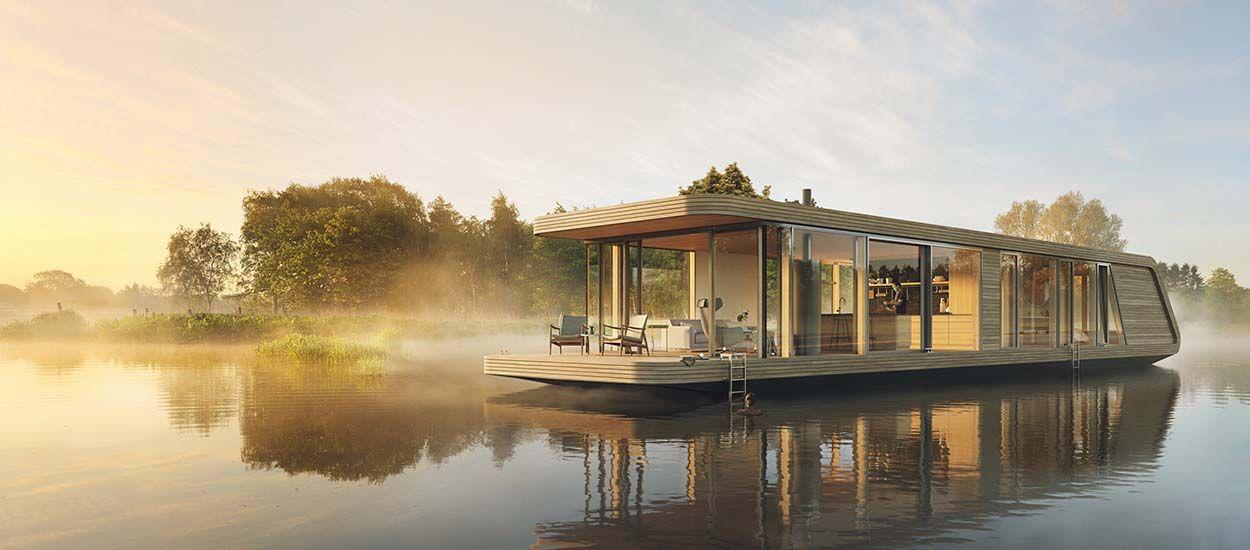 Pour les aventuriers, cette maison fonctionne grâce à l'énergie solaire