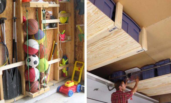 12 astuces de rangement gain de place pour un garage optimisé