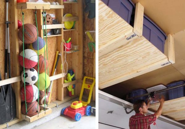 Superieur 12 Astuces De Rangement Gain De Place Pour Un Garage Optimisé