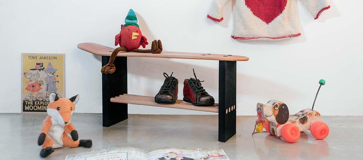 Tuto : Fabriquez un banc pour enfant avec un skateboard pour 15 euros seulement