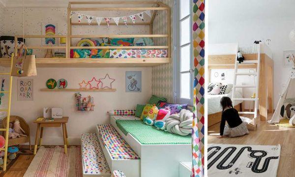 6 chambres partagées qui vont faire rêver vos enfants