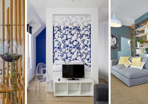 7 idées de cloisons décoratives alternatives aux verrières d ...