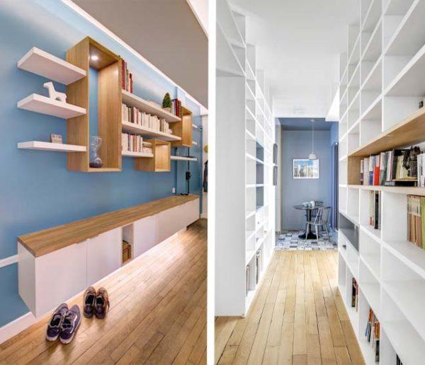 9 idées de rangements pour optimiser et embellir votre couloir