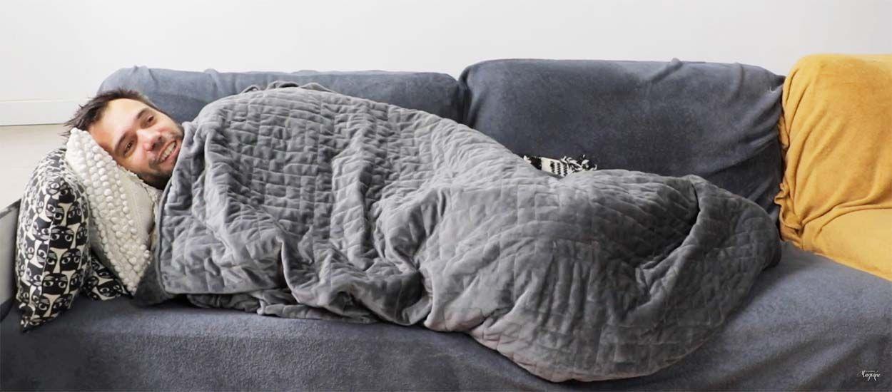 Les couvertures lestées qui aident à trouver le sommeil sont-elles vraiment magiques ?