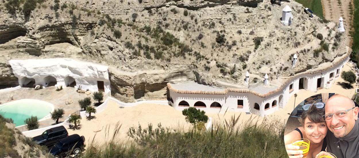 Laurence et Christian ont tout quitté pour vivre dans des troglodytes en Espagne