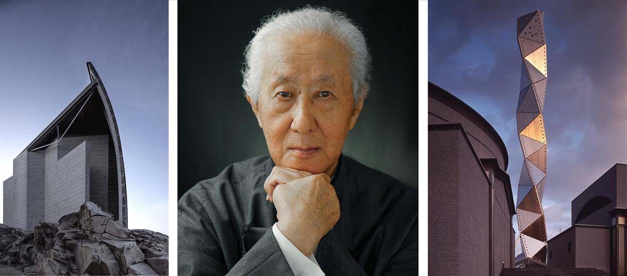 Découvrez les plus beaux bâtiments de l'architecte japonais Arata Isozaki, prix Pritzker 2019