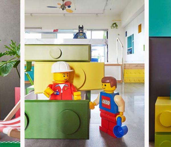 Cet appartement sur le thème des Lego fera rêver petits et grands