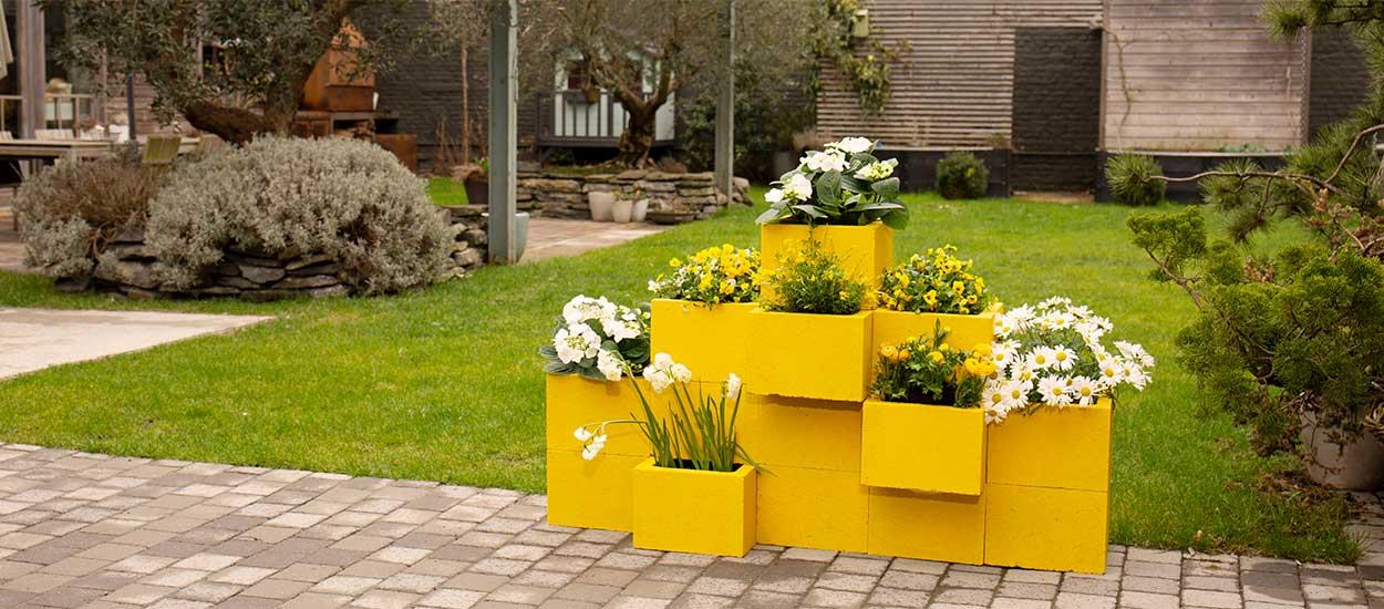 Tutoriel pour construire un muret de jardini res en b ton facilement - Construire jardiniere beton ...