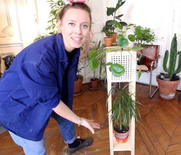 Tuto : Fabriquez un porte-plantes en cannage avec Ophélie Ta Mère Nature