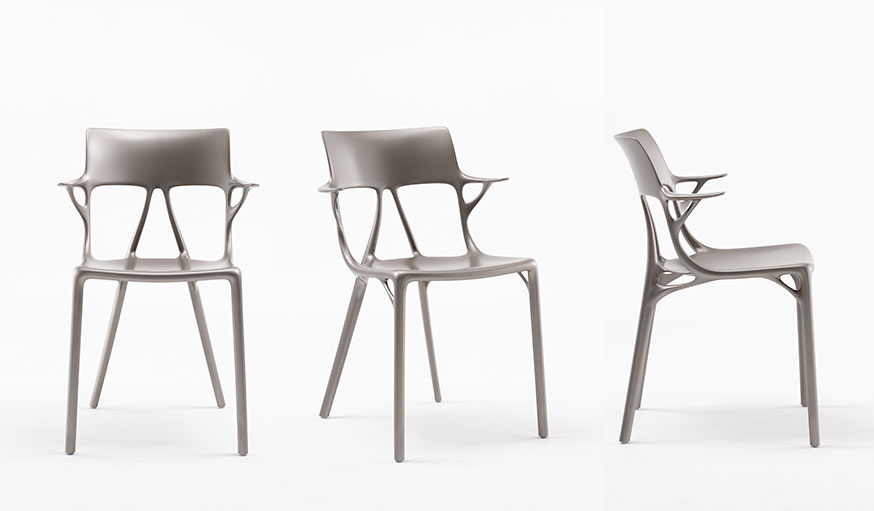 la chaise de philippe starck    enti u00e8rement con u00e7ue par une intelligence artificielle