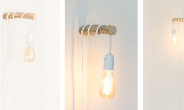 Tuto : Créez une lampe baladeuse avec une branche pour une ambiance naturelle