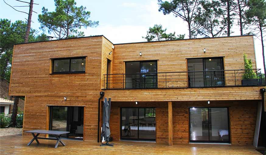 Un bardage bois ext rieur qui ne grise pas quelle essence quelle finition - Bardage de facade maison ...