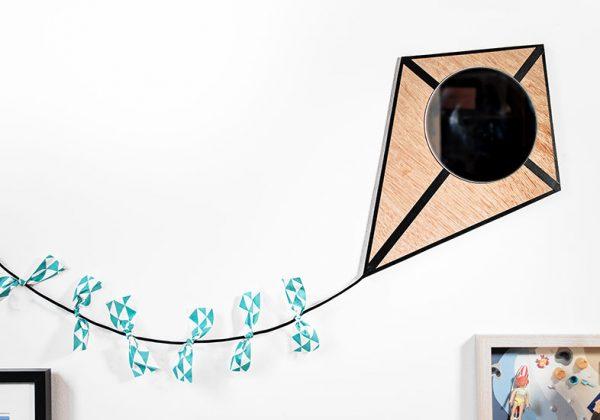 Tuto : Créez Un Miroir Cerf Volant Pour égayer La Chambre De Votre Enfant