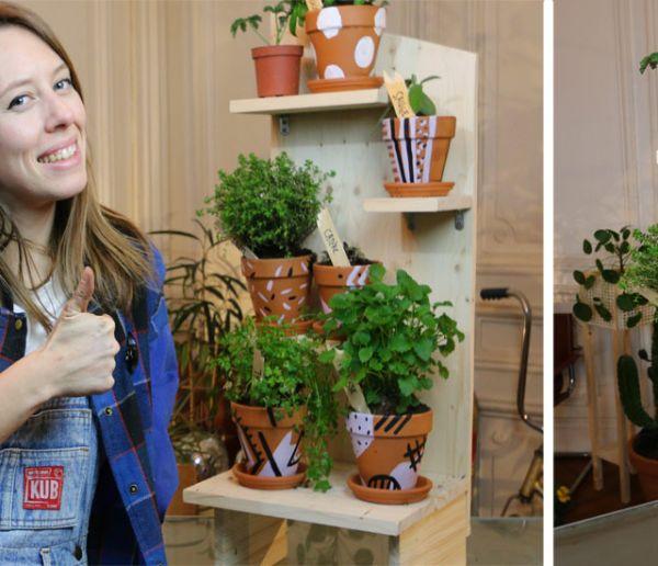 Tuto : fabriquez une jardinière verticale pour vos plantes aromatiques et médicinales