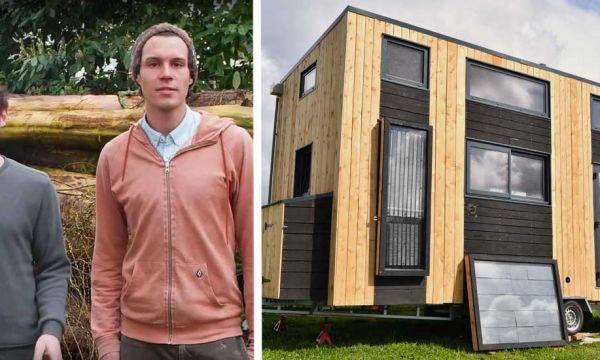 Ils vont tester la vie low tech dans une tiny house pendant 6 mois