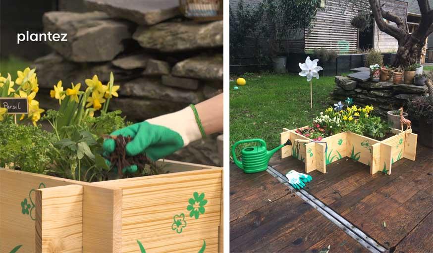 tutoriel vid o construire un petit potager pour jardiner. Black Bedroom Furniture Sets. Home Design Ideas