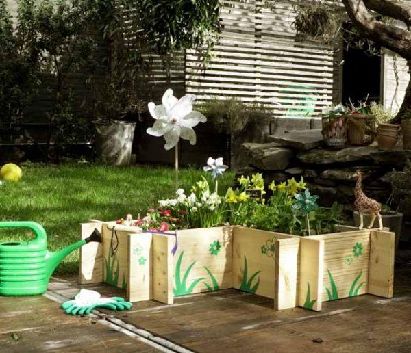 Tout pour un jardin à hauteur d'enfant