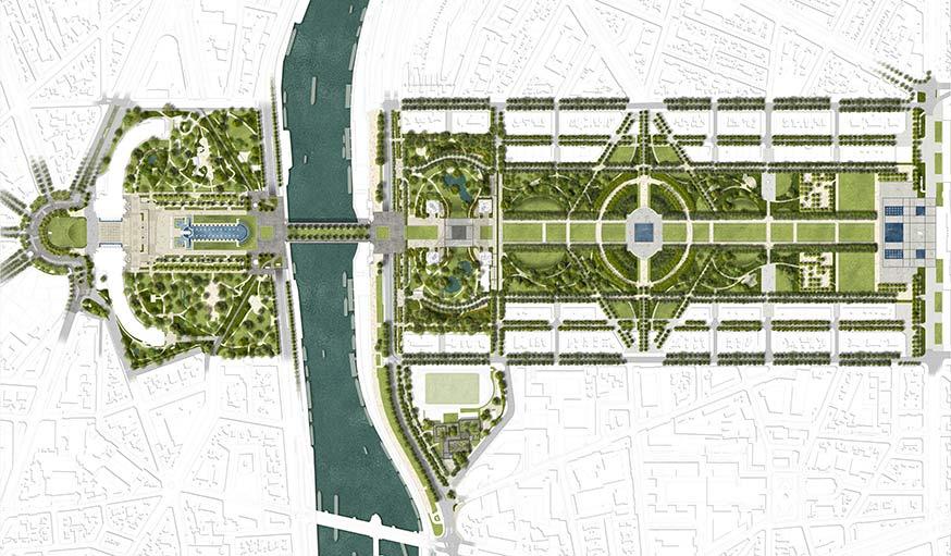 Plan pour rénover le site de la Tour Eiffel