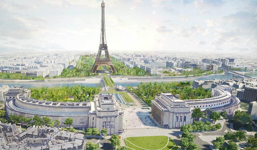 Transformation du site de la Tour Eiffel