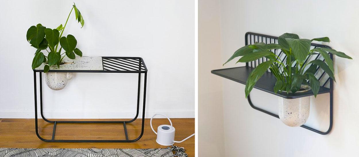 Ce meuble nourrit vos plantes de façon autonome