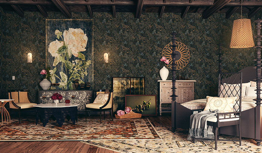 Tyrell Série décoration inspiration Game Of Thrones