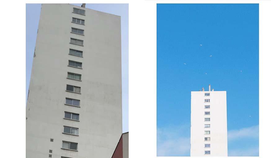 haut d'immeuble Marseille _Blank.City_