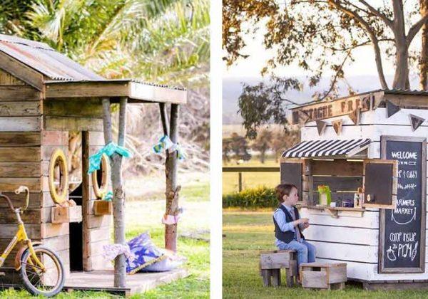 11 idées pour construire une cabane en bois pour enfants dans le jardin