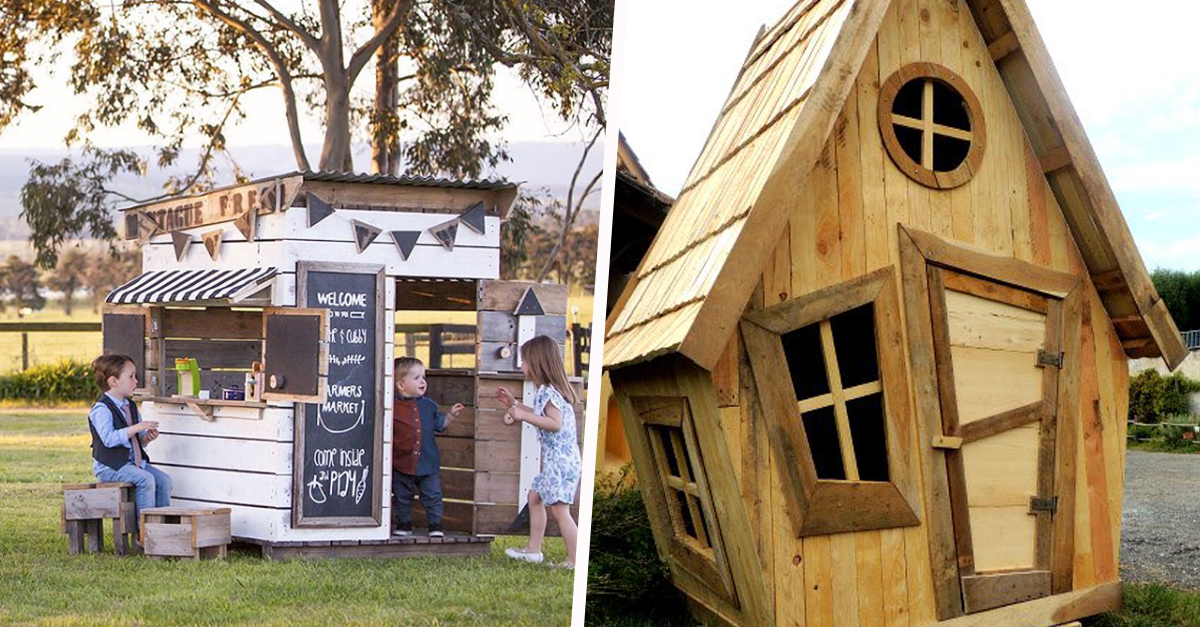 11 Idees Pour Construire Une Cabane En Bois Pour Enfants Dans Le Jardin