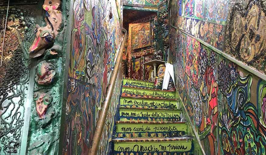 Escalier maison Danielle Jacqui
