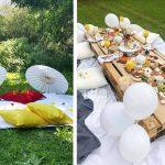 Inspiration déco sur Instagram pour un pique-nique au jardin