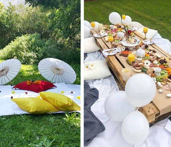 10 idées déco pour un pique-nique exceptionnel au jardin