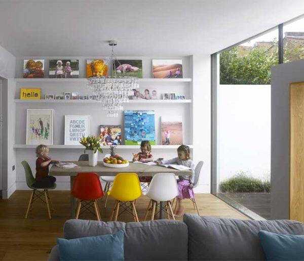 7 idées lumineuses et colorées à piquer à cette incroyable maison londonienne