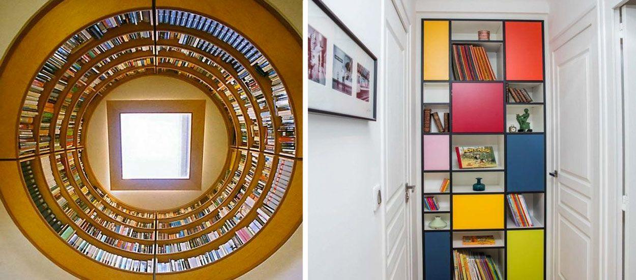 Ces bibliothèques vont vous bluffer par leur originalité et leur design