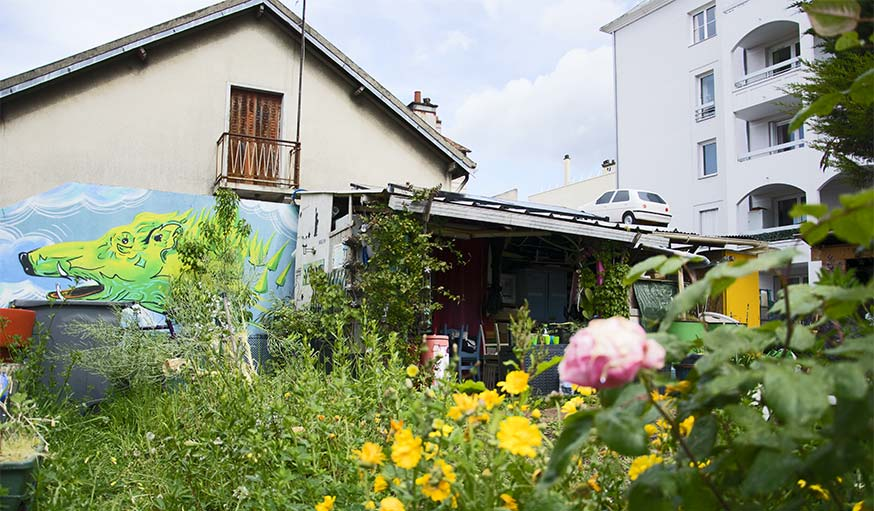jardin partagé abri