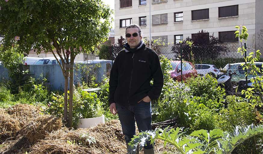 jardin partagé portrait fabrice