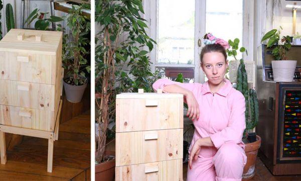 Tuto : Fabriquez un superbe lombricomposteur en bois avec Ophélie Ta Mère Nature