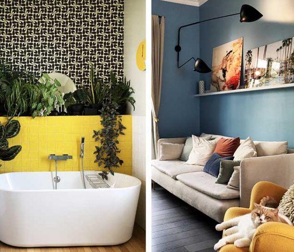7 idées colorées et graphiques à piquer à cette sublime maison