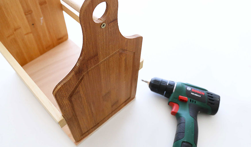 tutoriel porte bouteille en bois