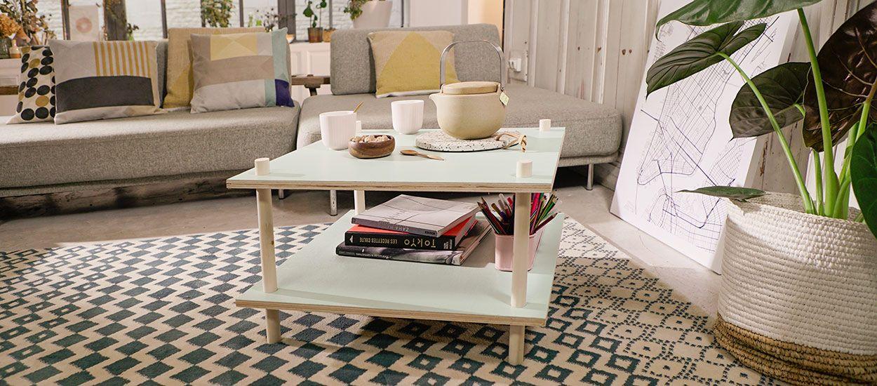 Tuto : Réalisez une table basse en bois sans colle, ni clou, ni vis