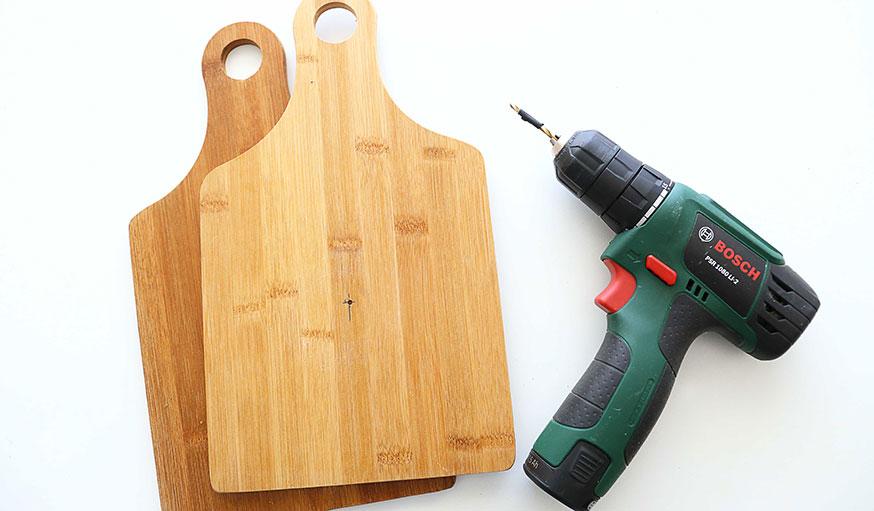 Porte bouteille en bois tutoriel