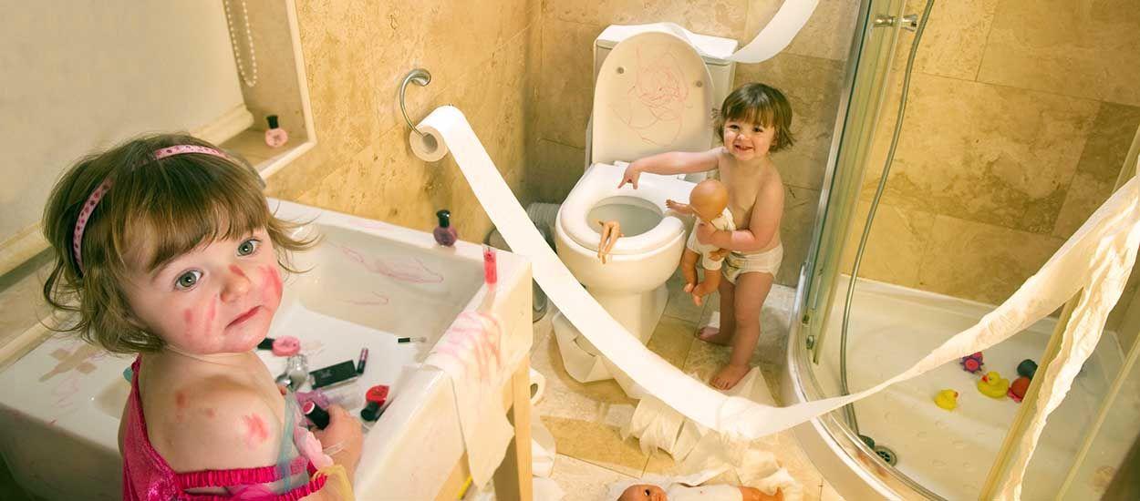 Enfants : nos conseils pour sécuriser votre salle de bains !