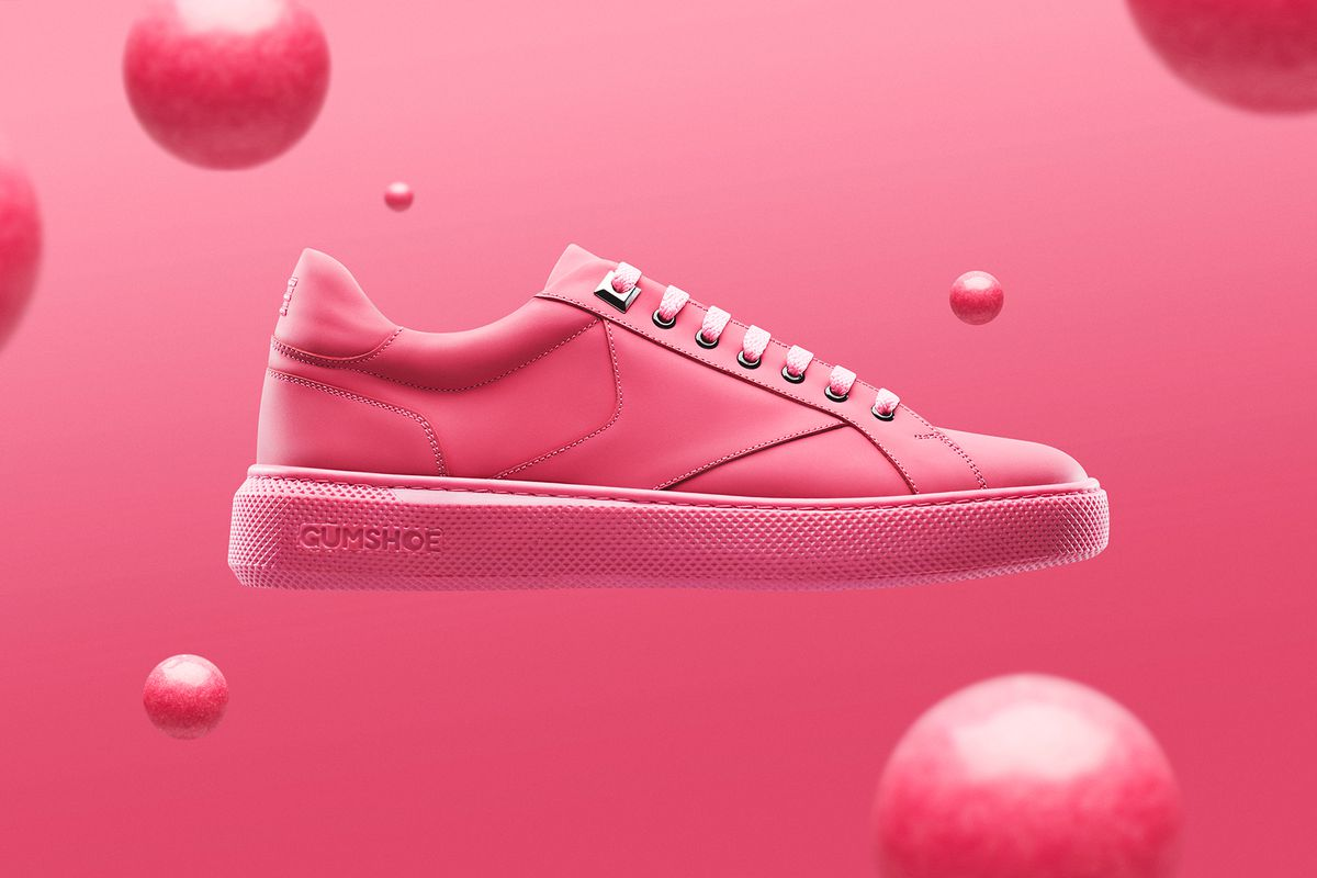 Chaussures recyclage chewing gum