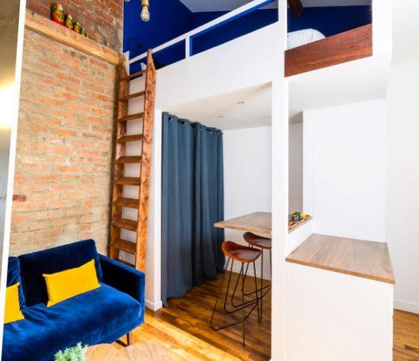 Avant / Après : Cette maisonnette en briques délabrée est devenue un studio ultra confortable
